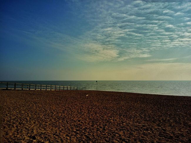 Southend seafront deserted. Sea Loneliness Southend On Sea Tranquility Seaside Lonely Sea View Sea And Sky British Seaside Southend Beauty In Nature This Is Britain Blue Wave
