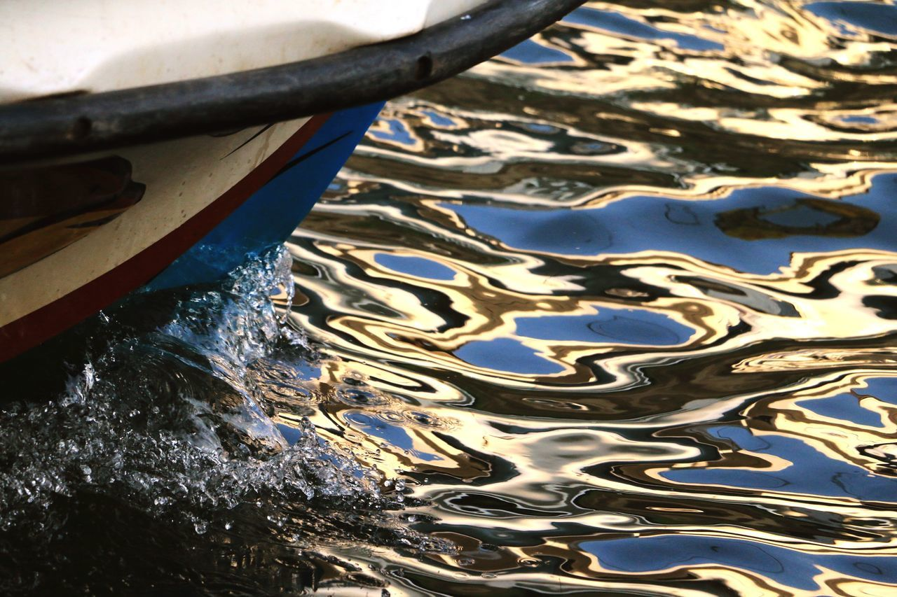 Every choice creates a ripple. Water Ripples And Waves Boat Sri Lanka Negombo Dutch Canals Reflection EyeEmNewHere Perspective Water