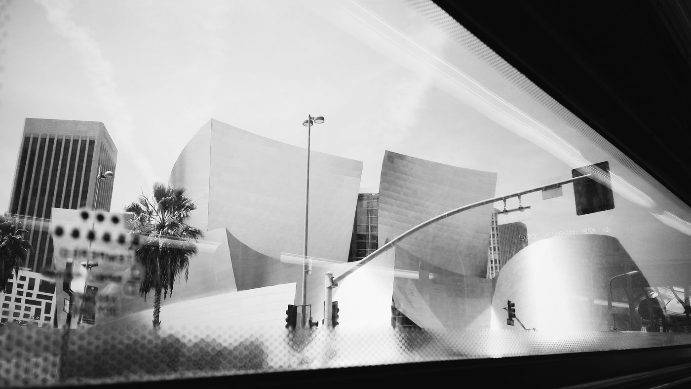 Black And White Disney Music Hall