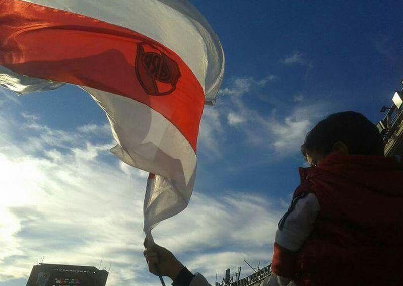 Flag River Plate Bandera Futbol Partido