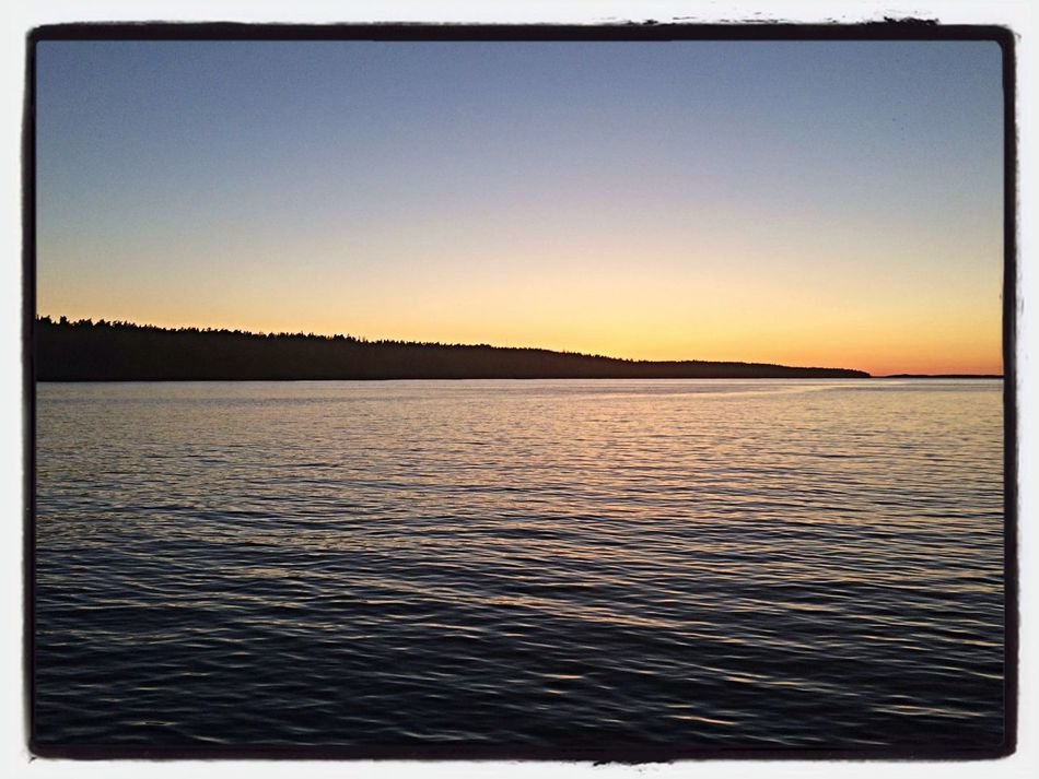 Going home... Boat Ride Ferry Sunset