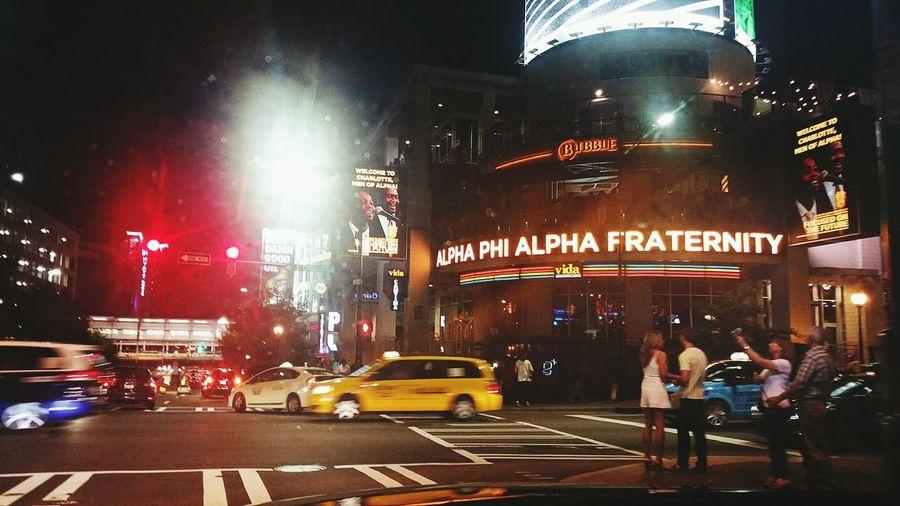 Urban Lifestyle Taking Photos Charlotte Alpha Phi Alpha Uptown Saturdaynight