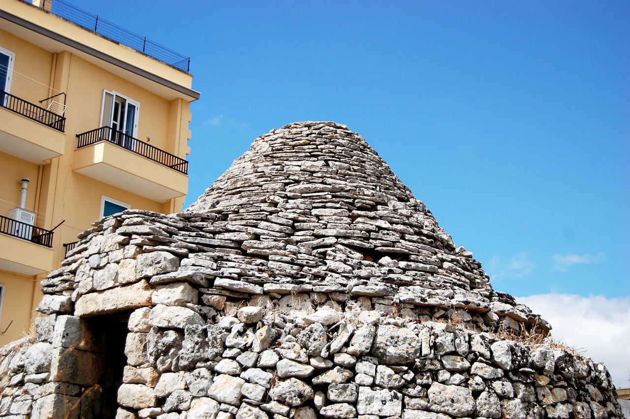 Building Exterior Architecture Built Structure Clear Sky Low Angle View Sunlight Outdoors Archival Sky No People Day City Adapted To The City Architecture Nature EyeEm Best Shots Martinafranca Trullilovers The Week On EyeEem Weekly Welcome Trulli Houses Traditional Culture EyeEmNewHere Architecture_collection Traditional Architecture Miles Away
