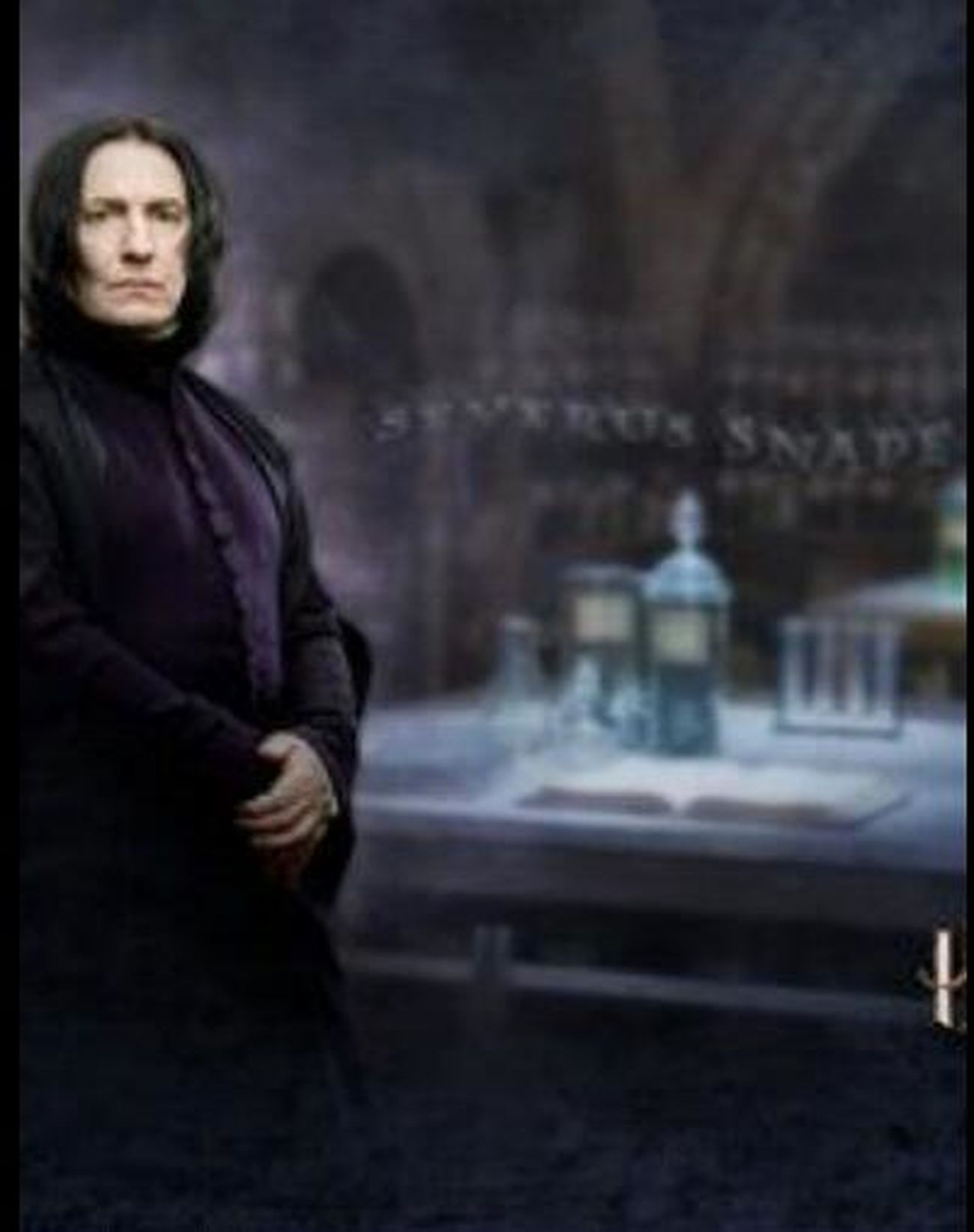 """Read it,control it,unhinge it"" Professor Snape Can't Get Enough Mesmorising"