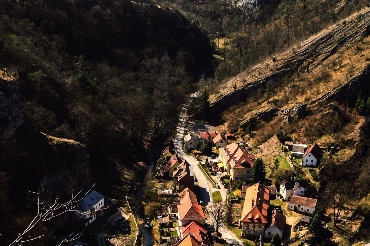 Svatyjanpodskalou Village High Angle View Nature Beauty In Nature Architecture Scenics Czech Republic Canonphotography