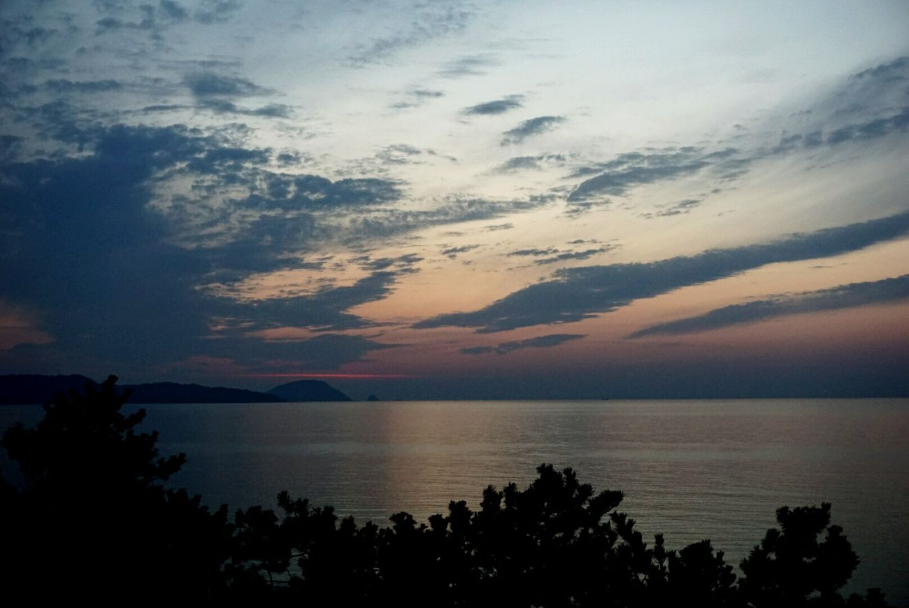 Sea And Sky Fukuoka,Japan 空と雲 空と海 I Love Sky And Clouds !