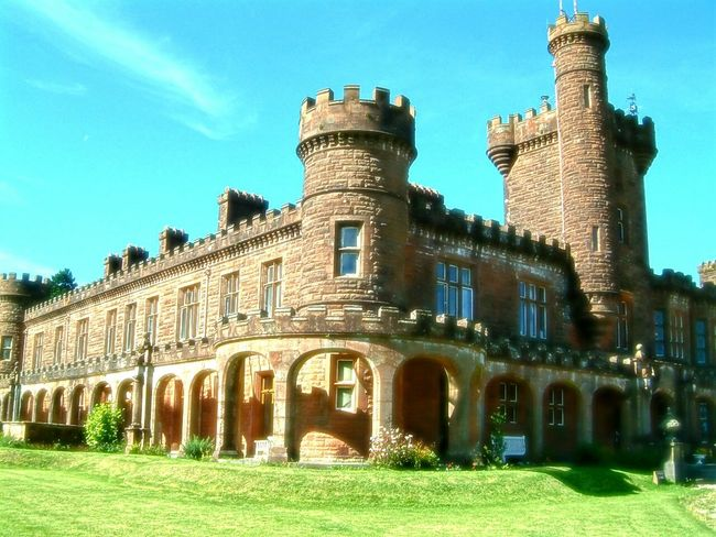 Historical Building Kinloch Castle Isle Of Rhum Architecture Ancient Building