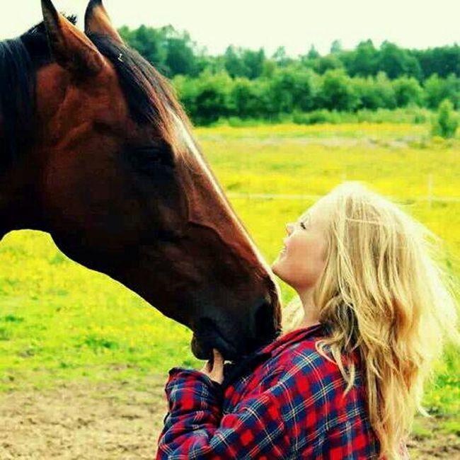 Countrygirl Horse Sweden Heden