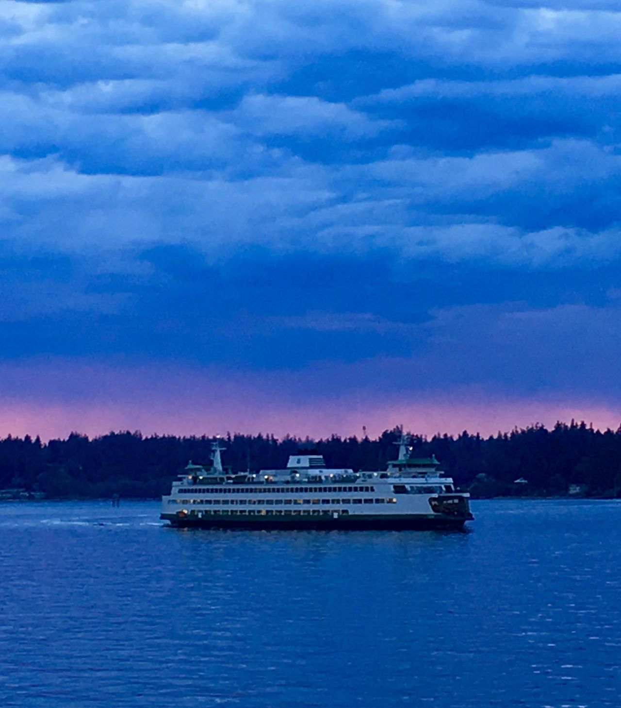 Ferry Bainbridge Island Ferry Puget Sound Crossing Visit In May Late Ride To  Seattle Visiting Work Business Trip EyeEm Best Shots EyeEmBestPics Blue Water Sky Blue Water Blue Sky Pictureoftheday IPhone Amateurphotography