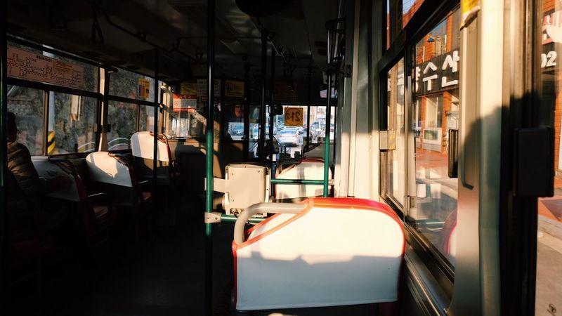 bus Travel Window Illuminated No People Day Indoors  Architecture