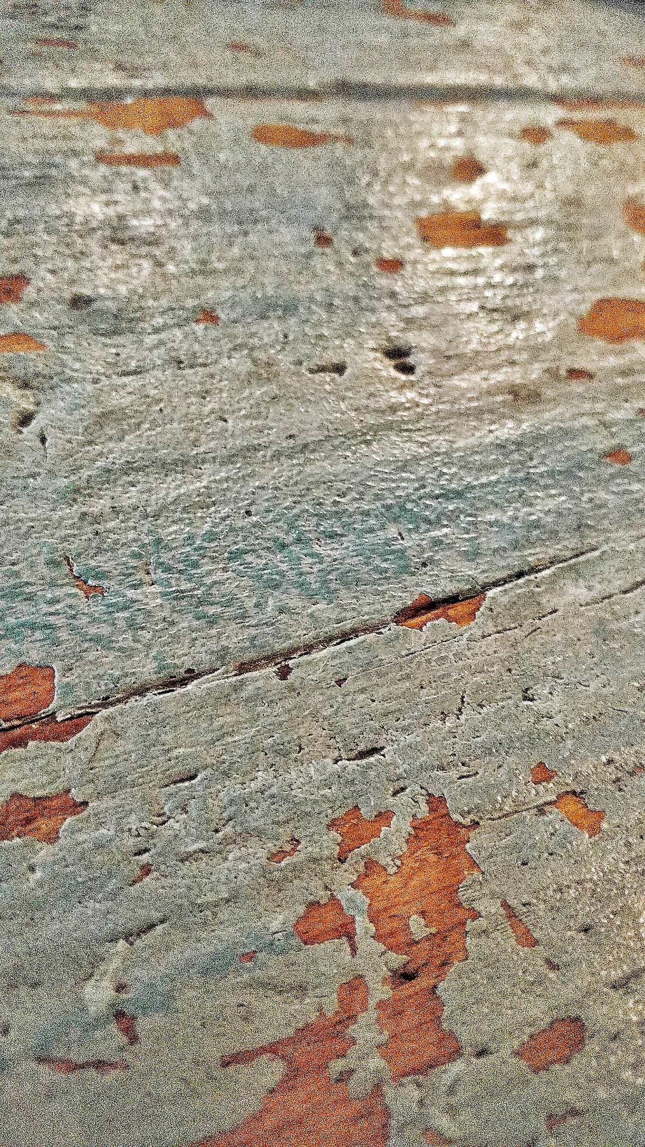 Backgrounds Textured  Abstract Industrial Photography Close-up Pattern No People Full Frame Old And Worn Chipping Paint Table Weathered Wood Old Table Textured