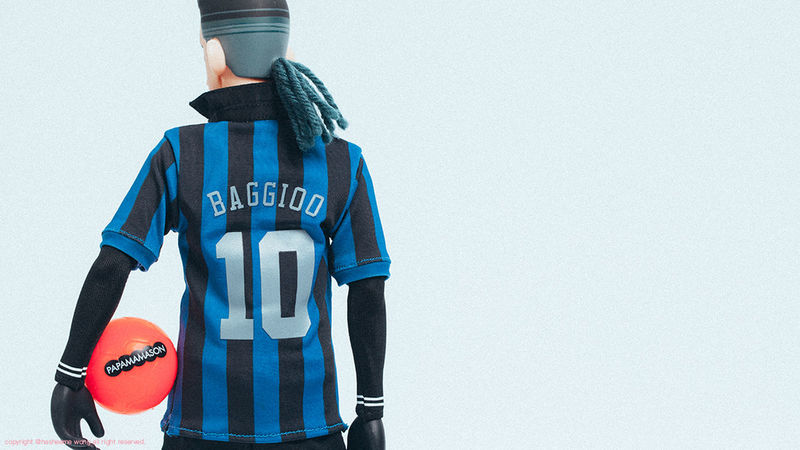 BAGGIO Eric So Football Papamamason Sports Clothing Toy Toy Photography Toyphotography