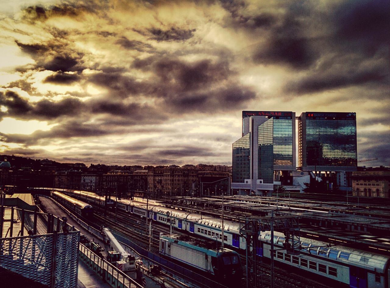 This morning EyeEm Best Shots Train Tracks Cityscapes Public Transportation