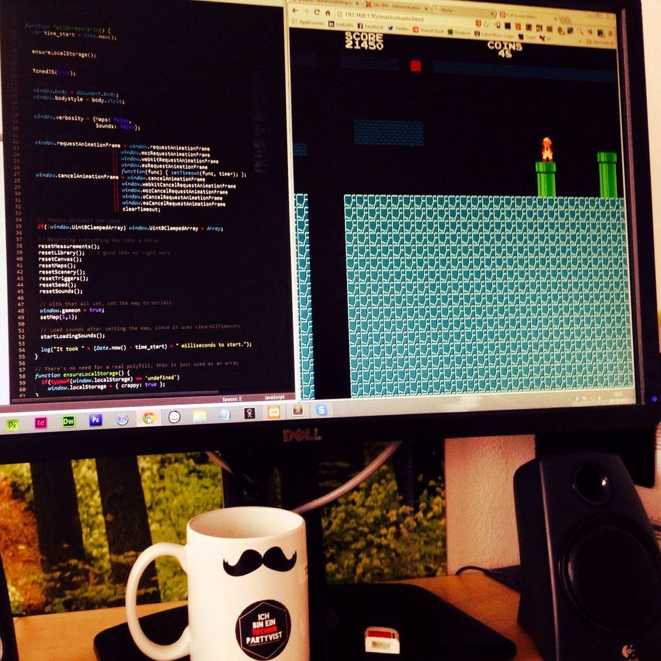 Coding Hacking Html5 Mario