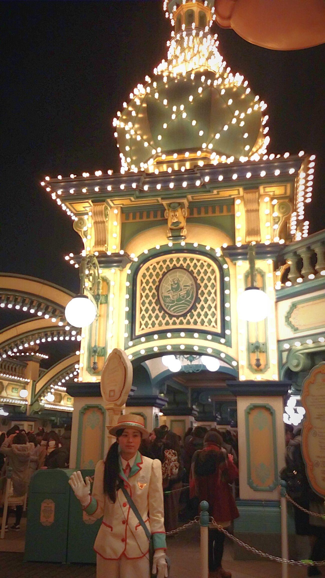 Resort Theme Park Toystory Toyville Illuminated Toyville Trolley Park Tokyodisneysea DisneySea Tokyo Japan JapanDec2016 TokyoDec2016