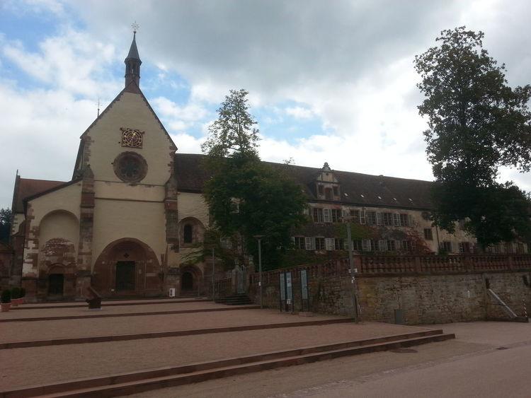 """Cistercian Abbey """" Kloster Bronnbach"""", Germany, built 1222 A.D. Abbey Cloister Church"""