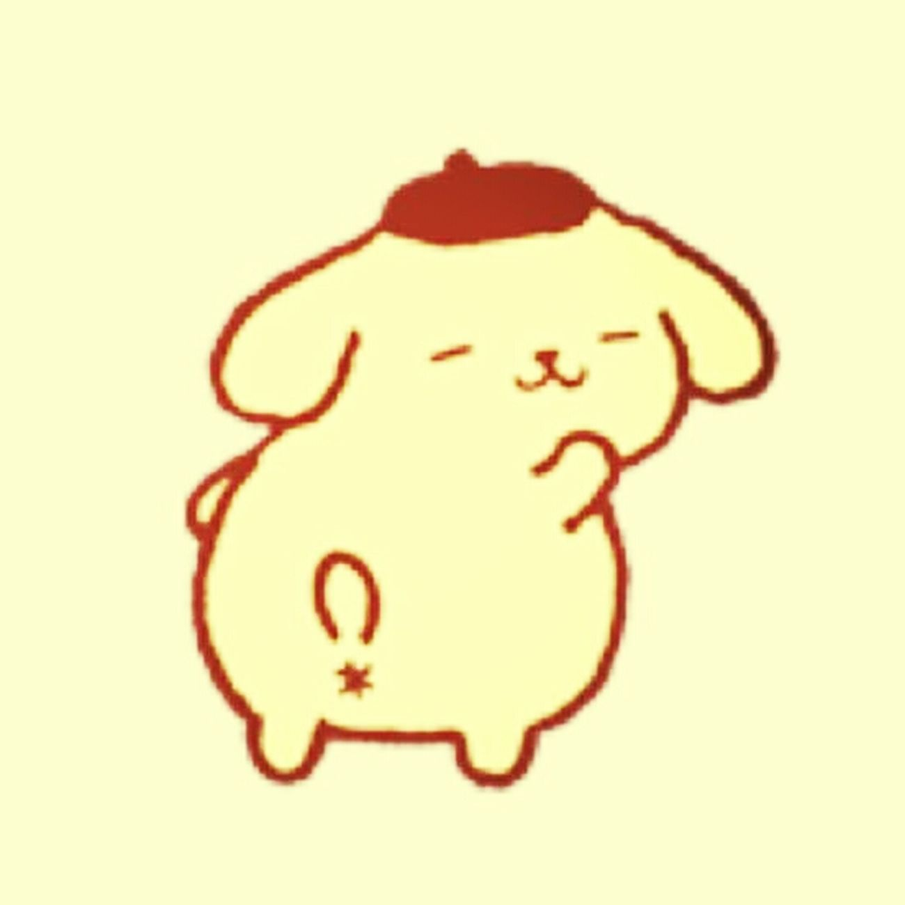 This is my favorite character ゛pom pom prin゛so cute♡ Pompompurin Sanrio