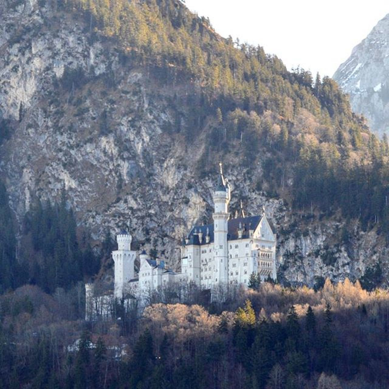 Сказочный замок сказочного короля 👑🏰 NeuschwansteinCastle Newschwanstein Castle Schwangau Hohenschwangau Alpen Füssen Bayern Bavaria Ferien Holidays Latergram Winterindeutschland Winter Germany Deutschland Europe