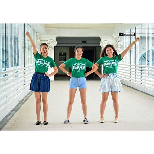 Stunning power ladies @billiecapis @inaongsiako @jeaninebeatrice in @greenbloodedts ? . . . Greenbloodedts Topmodels Themanansala
