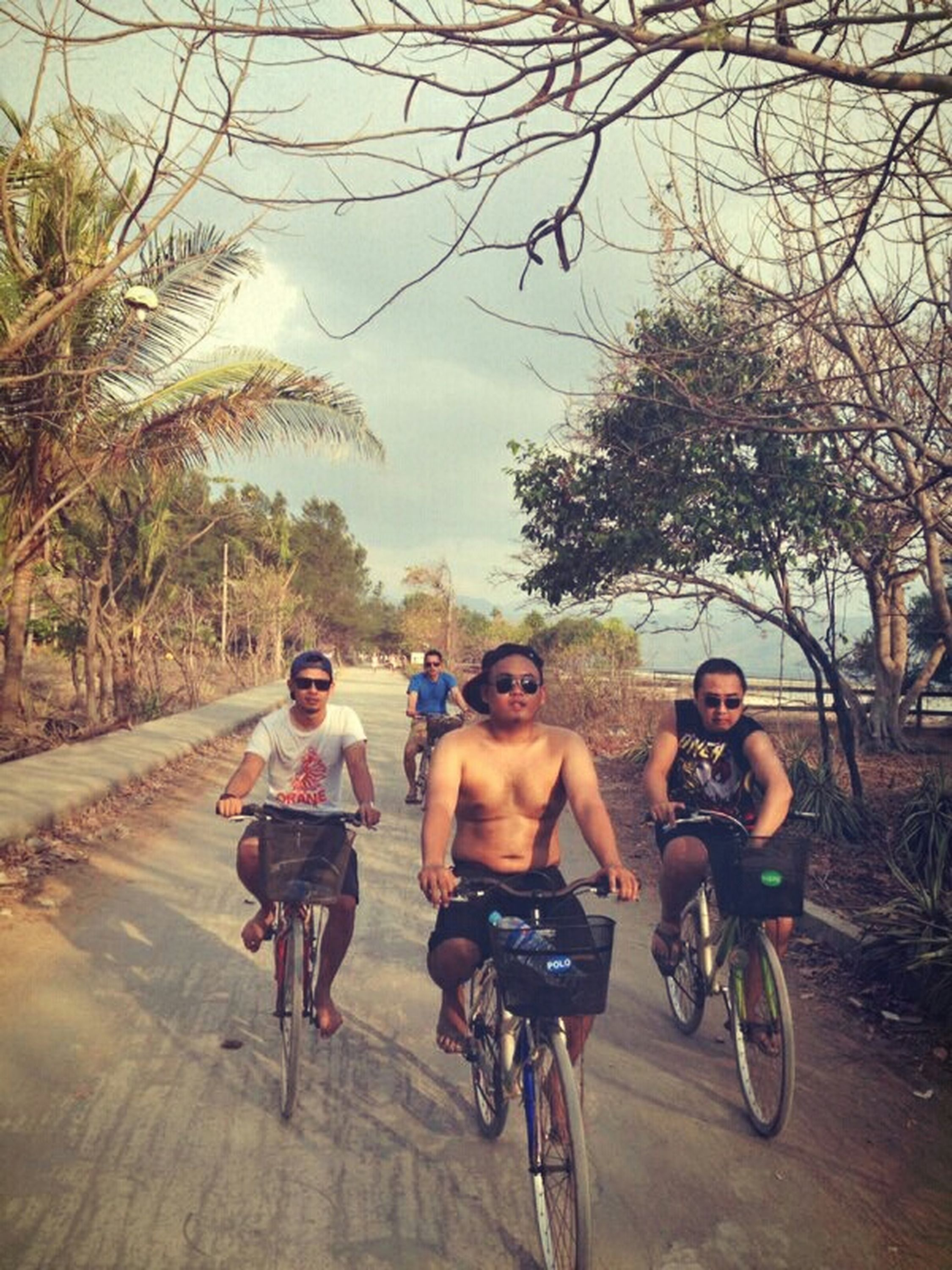 The Places I've Been Today Lombok Island INDONESIA Sunset Frienship Friendship Friends Relaxing Sunset Bycicling