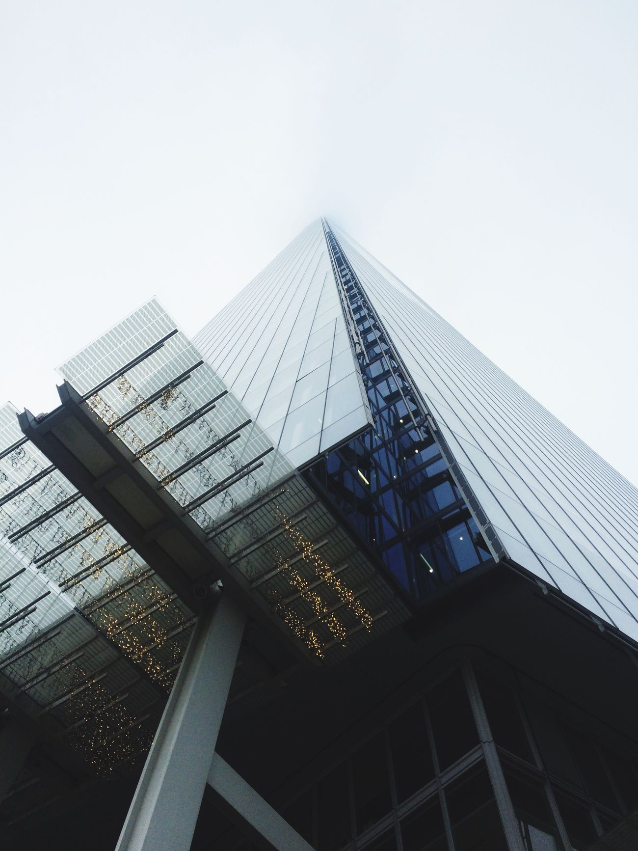 The Shard Architecture Skyscraper City Modern Tall