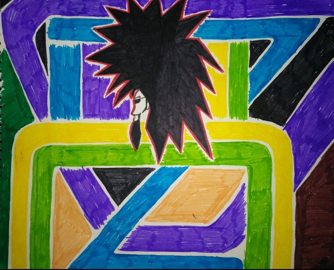 Inspired from rock music Multi Colored Art And Craft Creativity No People Close-up Arts Culture And Entertainment Drawing - Art Product Yellow Day Outdoors Painted Architecture First Eyeem Photo twitter.com/parulbedi25