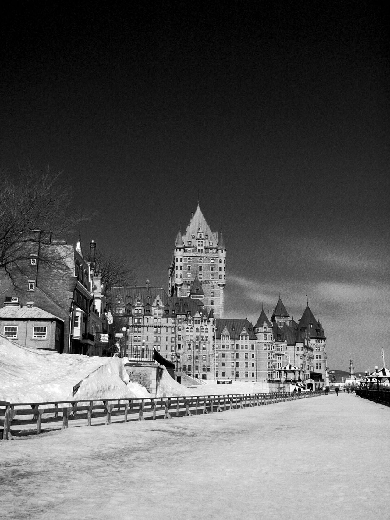 Quebec City Check This Out First Eyeem Photo Light And Shadow Blackandwhite Blackandwhite Photography Traveling Canada Quebec Hello World Enjoying Life Winter Wonderland