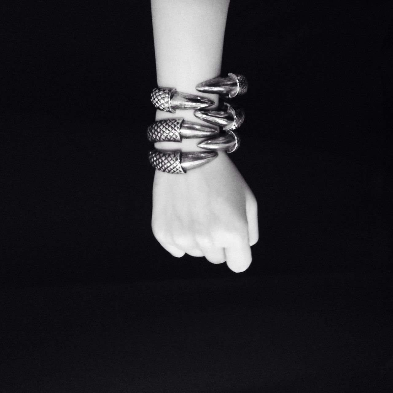 Beautiful stock photos of jewelry, Black Background, Bracelet, Chic, Claws