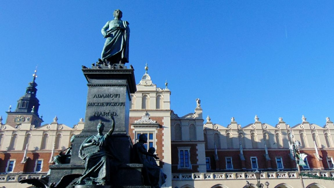 Hello World Hi! Cracow City Mickiewicz Adam Mickiewicz Poland