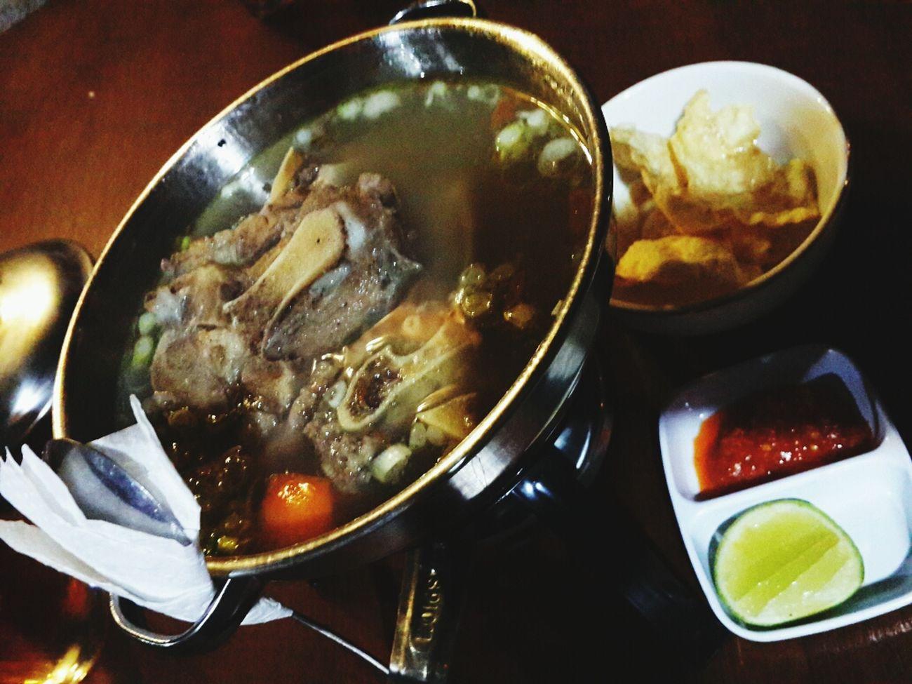 D'beranda Cafe Happy Family! ❤ Happy Birthday Mom! Oxtail Soup