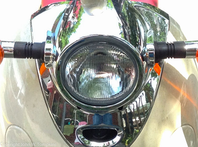Moped Headlight Close-up Cropped Day Headlight Land Vehicle Machine Part Mode Of Transport Mopeds No People Part Of