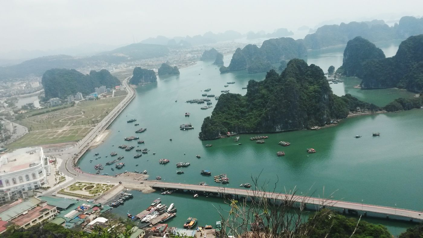The Adventure Handbook Ha Long Bay QuảngNinh Vietnam view from Top Of The Mountain Bài Thơ Moutain
