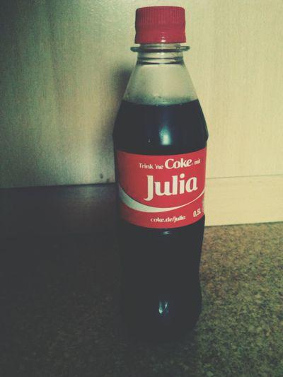 Coke Love ♥ Drink A Coke With... Julia