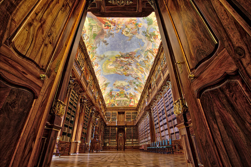 Love for Books Architecture Art Art And Craft Book Books ♥ Built Structure Church Design EyeEm EyeEm Best Edits EyeEm Best Shots EyeEm Gallery EyeEmBestPics History Indoors  Library Low Angle View Prague Read Reading Showcase April Bestoftheday Temple - Building Wood