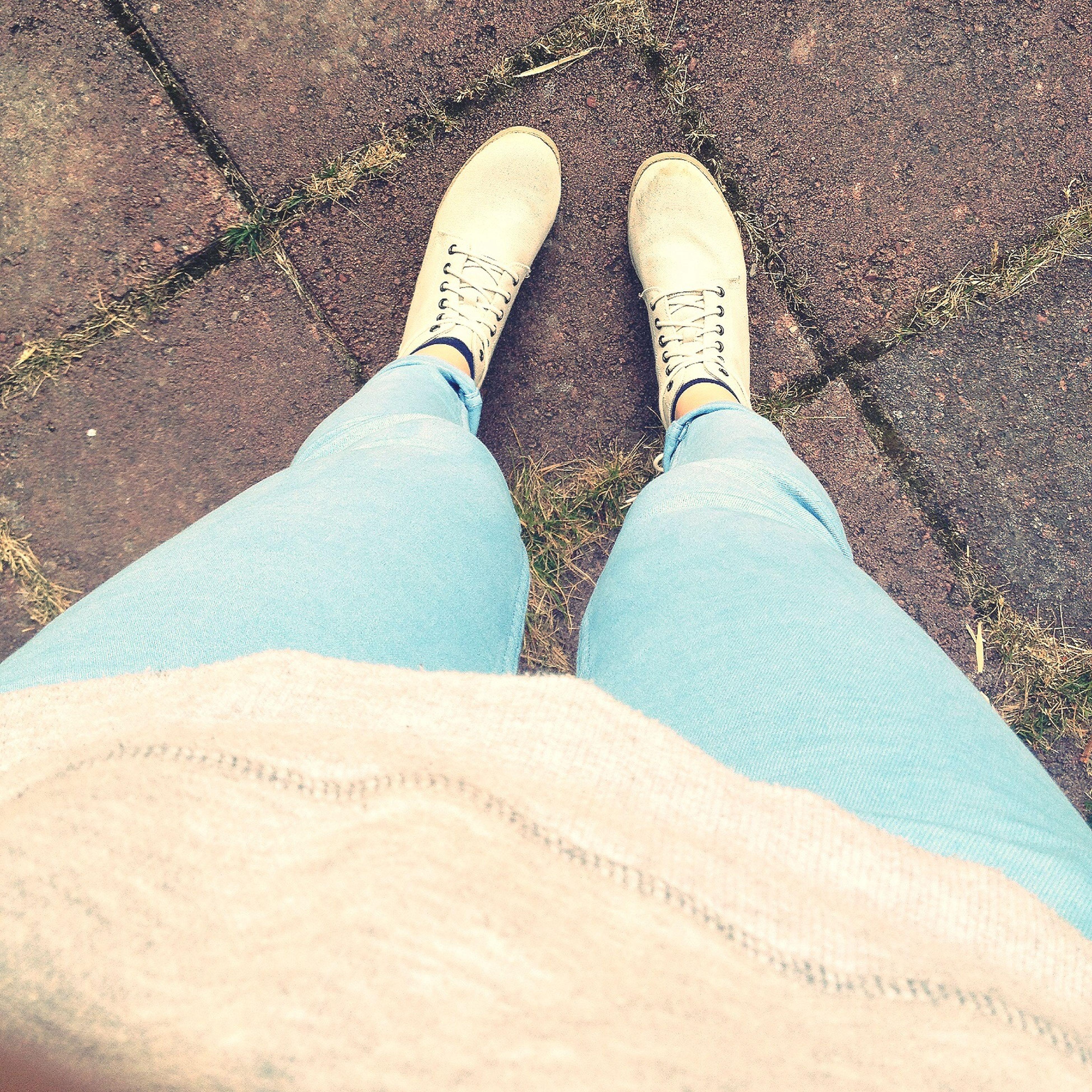 Shoes Fashion Blue Blue Jeans