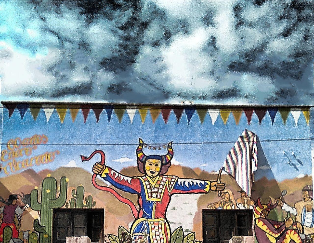Fotografia Diablos San Salvador De Jujuy Tilcara Argentina