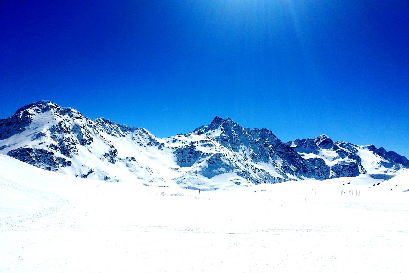 Lunch TeamElia GoFacchini Skirace Sun Snow ❄ Mountain View Mountains And Sky