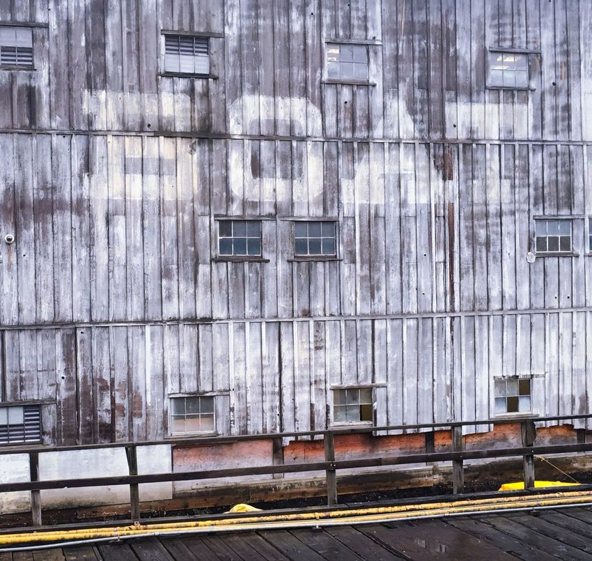 Ghost Signs  Architecture Building Exterior Weathered Industrial Deterioration Wharehouse Pier Dock Boatyard Shipwright