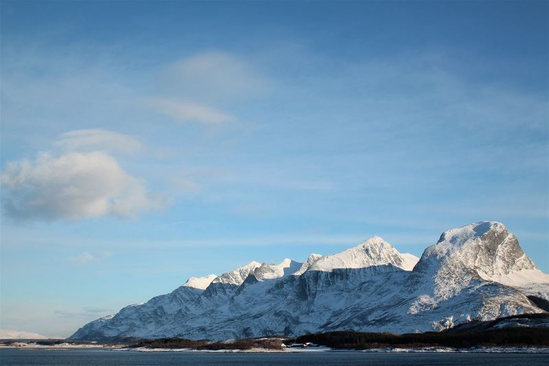 Norway Seven Sisters Arctic Beauty In Nature Cold Temperature Day Glacial Glacier Ice Landscape Mountain Nature No People Outdoors Polar Climate Range Scenics Sky Snow Winter