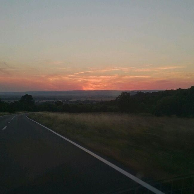 Such a beatiful Sunset <3 wish I had a better Camera on such Moments :(