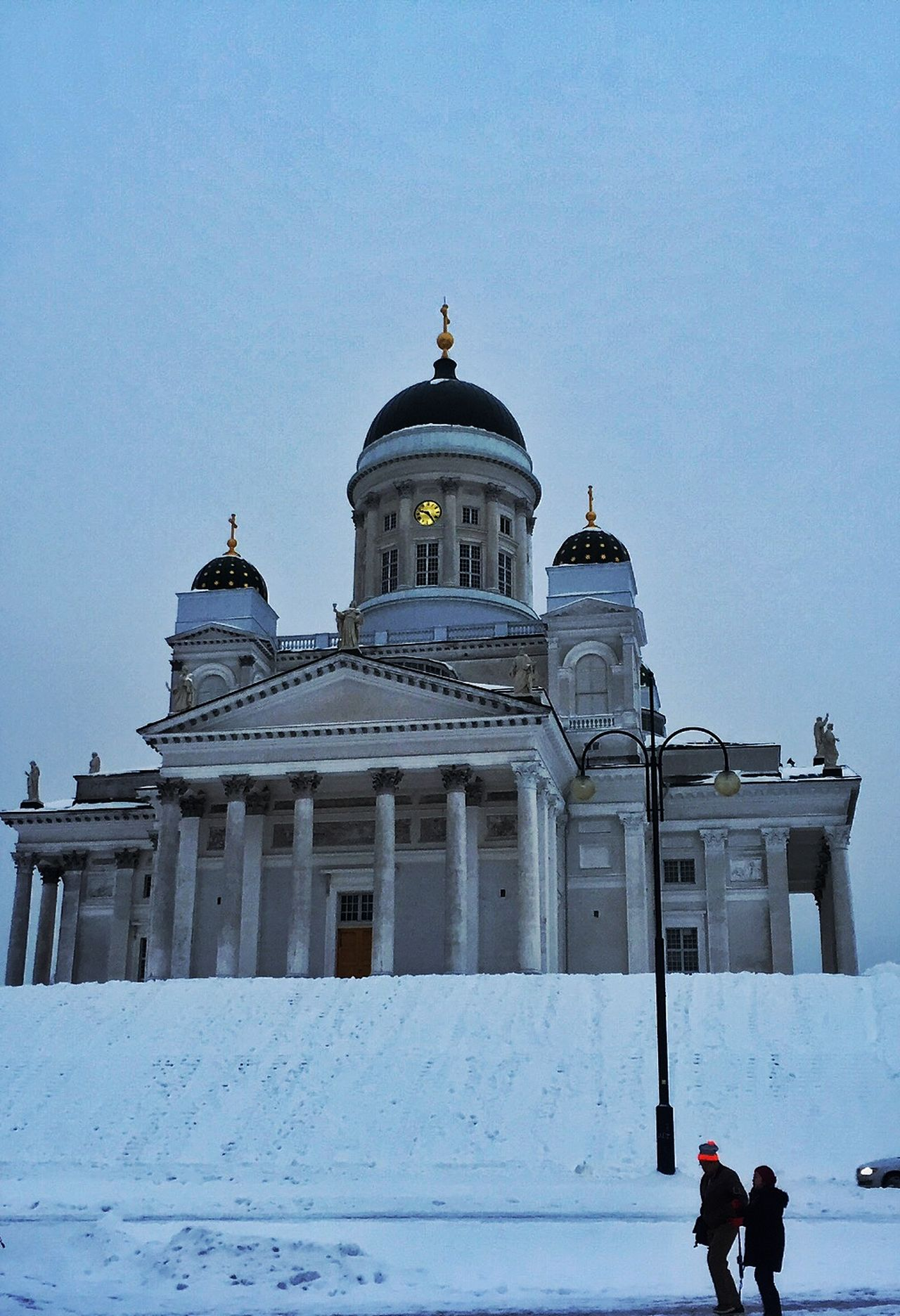 IPS2016Winter Winterscapes Winter Wonderland Helsinki Cathedral Sojourn IntotheArticCircle Helsinki,finland Aurora Chasing IPS2016Blue LLLimages Iphonephotography Iphone6 IPS2016People Showcase March
