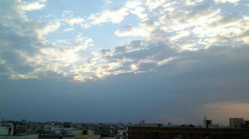💕a Sweet Sunset Under The Cloud 😊☺😊