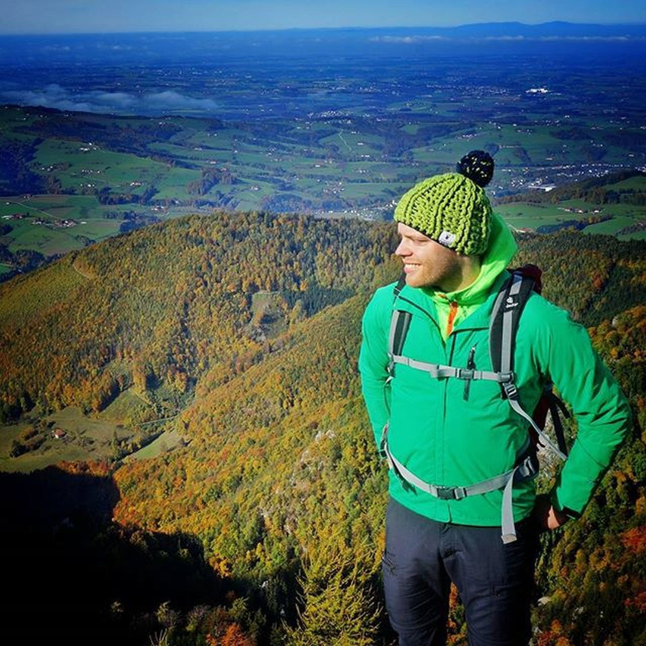 on top of the gaisberg ! 🌄🍁🍃🍂🌿 @deuter Deuter Exploremore Wanderlust Letsgosomewhere Soultravel Culture Explore Adventure Hike TravelNoire Austria Trail Trailrunning Seesomeworld Welltravelled Travel Doyoutravel CreateExplore Travelclub Love Beautiful Exploring Fashion Picoftheday Nature lifestyle traveltheworld autumn natgeoadventurre natgeo