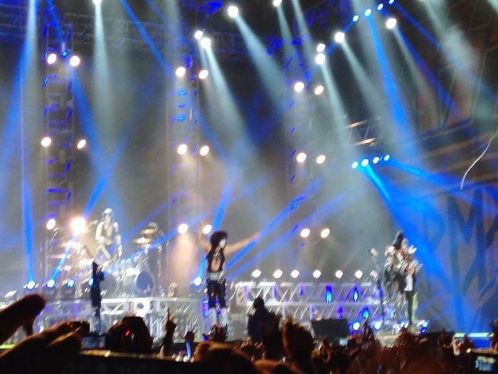 Great Concert Kiss Rock