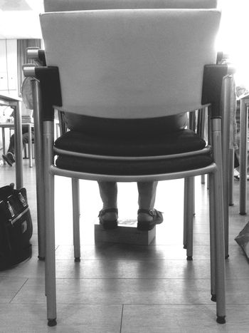 Learn & Shoot: Layering CourseTime Chairs Feet Black And White Layers Old But Awesome