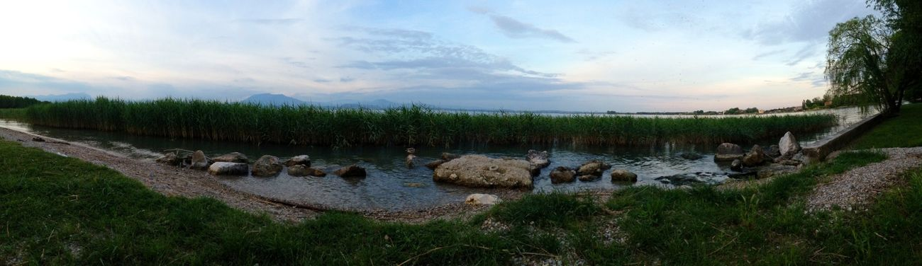Lake Panorama Panoramic Photography