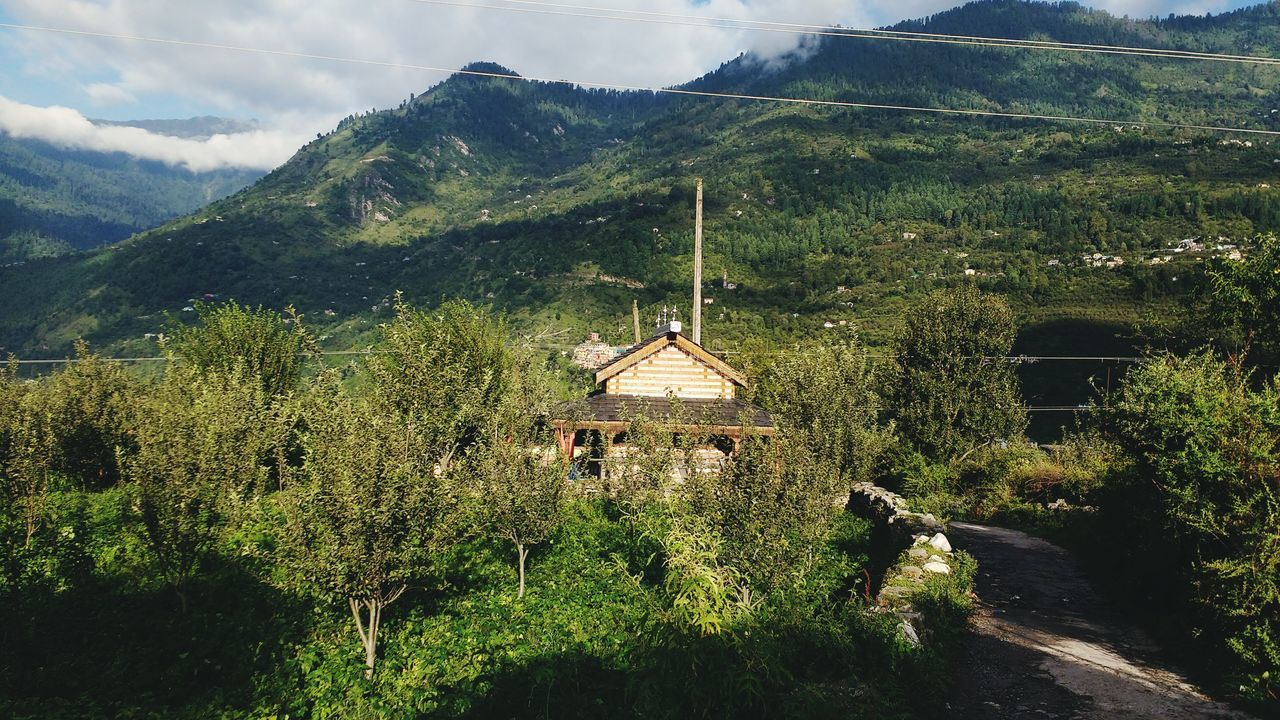 Nature temple manali the snow valley