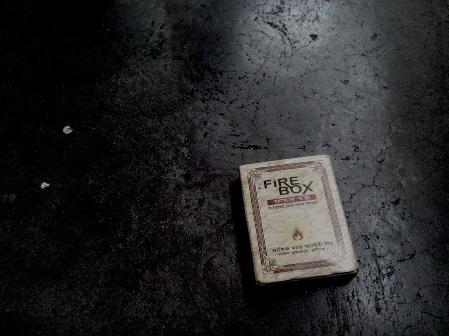 Fire Box Matchbox for Smoking
