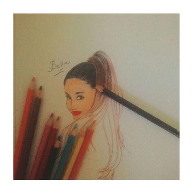 Ariana grande sketsa 📋📝 Galeriadeart