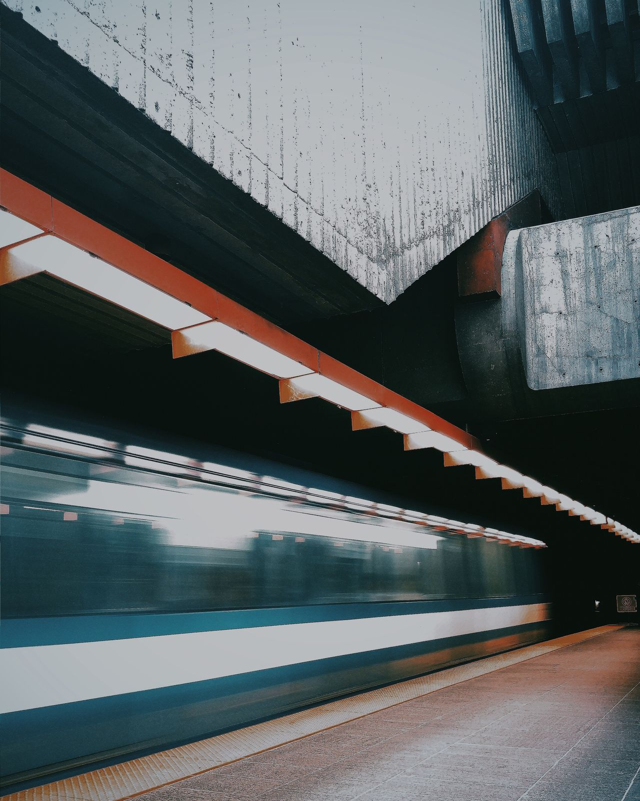 Mtl metro. Transportation Motion Speed Railroad Station Platform Rail Transportation Long Exposure Blurred Motion Mtlmetro Mtlmetroproject Lgg4photography Public Transportation Subway Station Public Transport Subway Train Journey Long Lit No People